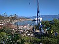 View of the port from the gardens of Panagia Trypiti shrine.jpg