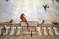 Villa la quiete, sala delle ville, volta 06 pappagalli.JPG