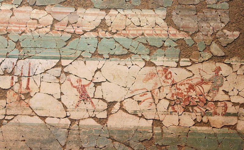 Fichier villa romaine du prieur peintures murales l for Les differents types de peintures murales
