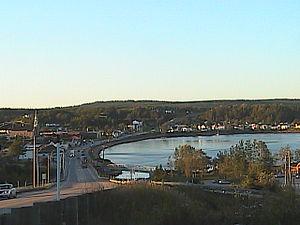 Les Escoumins, Quebec - Image: Village des escoumins IMGA0094
