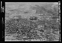 Villages in the Hauran (Land of Gilead). Basra-Eski-Sham. A closer view showing its protecting castle LOC matpc.15960.jpg