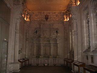 La chapelle du château.La chapelle du château.