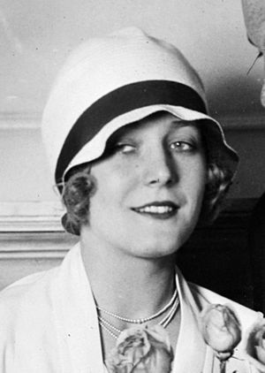 Cloche hat - Cloche hat as worn by silent film star Vilma Bánky, 1927