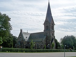 Vinberg church, built 1899