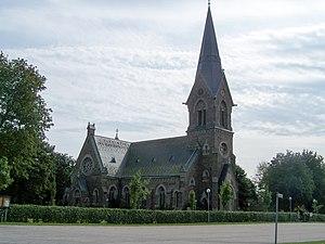 Vinberg - Vinberg Church, built 1899, here in August 2007