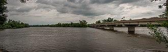 Iowa Highway 150 - The Iowa 150 bridge at Vinton