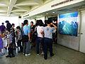 Visitors Leaving Observation Tower Top by Elevator 20140330.jpg