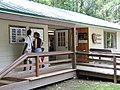 Visitors at Apgar Visitor Center (4420464592).jpg