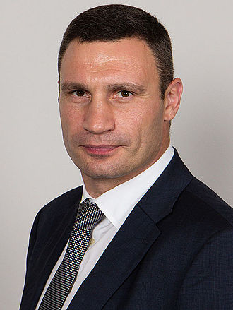 2015 Ukrainian local elections - Vitali Klitschko