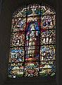 Vitrail Charlemagne, Eglise Abbatial de Saint Florent le Vieil.JPG