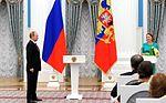 Vladimir Putin at award ceremonies (2016-03-25) 13.jpg