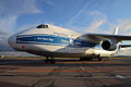 Volga-Dnepr Antonov-124 RA-82081 at SVO 13-Oct-2011.jpg