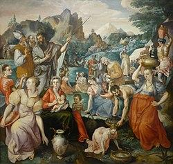 Marten de Vos: Gathering of manna