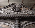 Włocławek-Cherub's head on horse-drawn hearse.jpg
