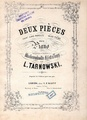 W. Tarnowski - Deux Pieces - Chant sans paroles, Valse poeme.pdf