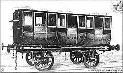 И уже в 1850 году, в связи с широким притоком слоев , стали выпускать вагоны Ι,ΙΙ, и ΙΙΙ классов, различающихся...