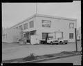 WEST FRONT, NORTHWEST CORNER - Machine Shop, Second Street and Dedrick Drive, Keyport, Kitsap County, WA HABS WA-259-2.tif