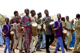 Talking drum - Drummers on parade