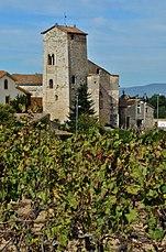 WLM14ES - Monestir romànic de Sant Sebastià dels Gorgs, Alt Penedès - MARIA ROSA FERRE (1).jpg