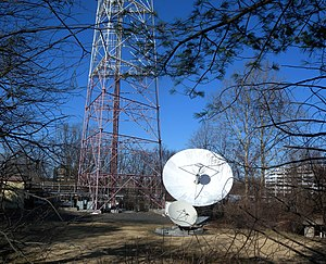 NJTV - WNJN transmitter, at Montclair State University.