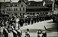 Walking with the torahs for synagogue inauguration in Memmingen.jpg