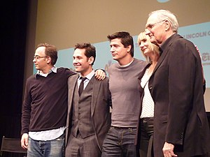Wanderlust (2012 film) - The cast of Wanderlust at a screening at Film Society of Lincoln Center, 2012
