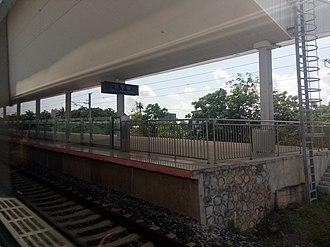 Wanning railway station - Image: Wanning Railway Station 20150501 105206