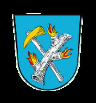 Brand, Bavaria - Image: Wappen Brand Opf