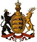 Wappen des Königreichs Württemberg