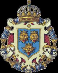 Dalmatinski grb u Austro-Ugarskoj prema H. Ströhlu (1851.-1919.)