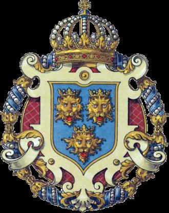 Diet of Dalmatia - Coat of arms of the Kingdom of Dalmatia