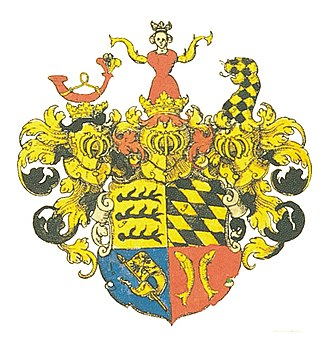 Coat of arms of Württemberg - Image: Wappen Württemberg 1703