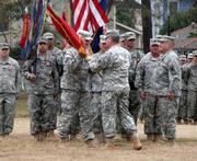 Washington Artillery Change of Command 2013