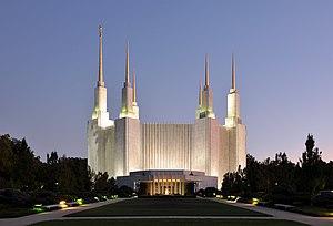 Keith W. Wilcox - Washington D.C. Temple designed by Keith W. Wilcox