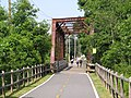 Washington Secondary Trail truss bridge over South Branch, Pawtuxet River, Coventry, Rhode Island.JPG