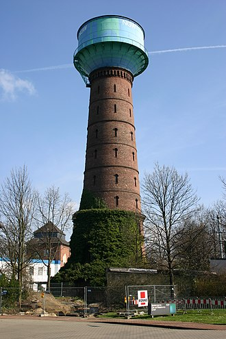 Hamborn - Image: Wasserturm Alt Hamborn Duisburg 3
