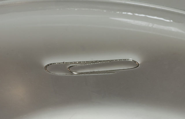 how to break surface tension