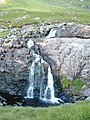 Waterfall at North end of Loch an Nid - geograph.org.uk - 538428.jpg
