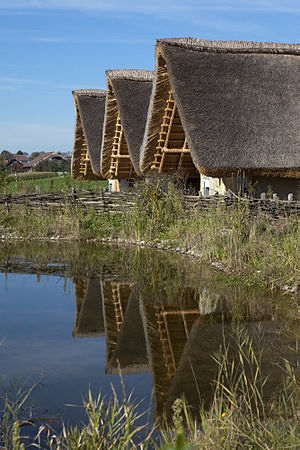 Canton of Lucerne - Reconstruction of several stilt houses at Wauwilermoos