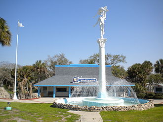 Weeki Wachee, Florida - Entrance to Weeki Wachee Springs State Park