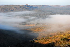Hluhluwe–Imfolozi Park - A morning vista over the park