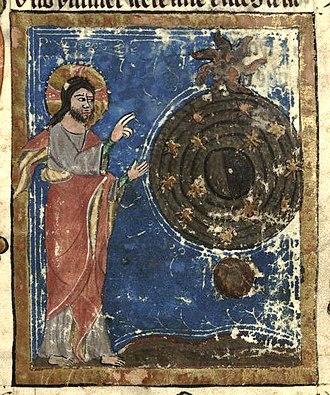 Cultural mandate - Gott erschafft den Weltkreis by Rudolf von Ems