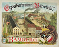 Werbeplakat Bärenbrauerei. Bamberg c1900.jpg