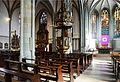 Werl, denkmalgeschützte Propsteikirche, Kanzel und Altäre.JPG