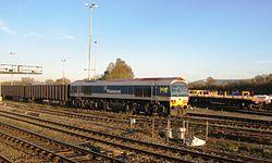 Westbury Down Yard - Mendip Rail 59103.JPG