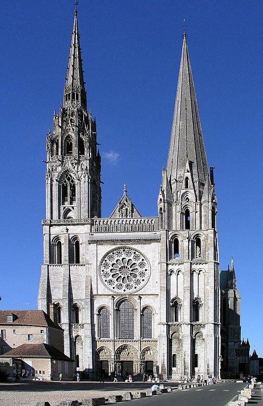 Westfassade Chartres