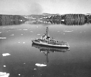 USCGC <i>Westwind</i> (WAGB-281) Wind class icebreaker