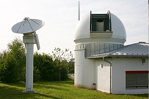 Satellite geodesy - Wettzell Laser Ranging System, a satellite laser ranging station