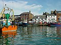 Weymouth Harbour 2005 from the south side showing The George Inn.jpg
