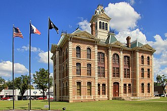 Wharton County, Texas - Image: Wharton county courthouse 2013